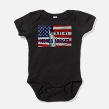 911 Never Forget Baby Bodysuit
