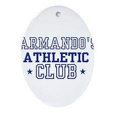 Armando Oval Ornament