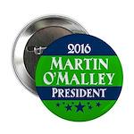 Martin OMalley for President Button