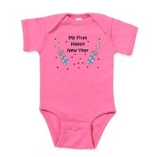Babys First New Year Baby Bodysuit