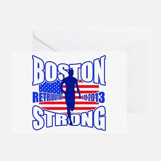 Boston Strong Retribution Greeting Card