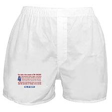 4th Amendment Boxer Shorts
