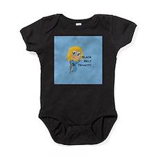 Black Belt Tenacity Baby Bodysuit