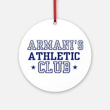Armani Ornament (Round)
