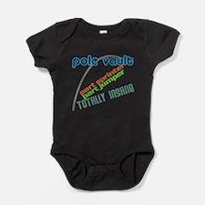 Pole Vault Jumper Sprinter Insane Baby Bodysuit