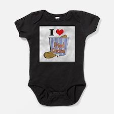 fried chicken copy.jpg Baby Bodysuit