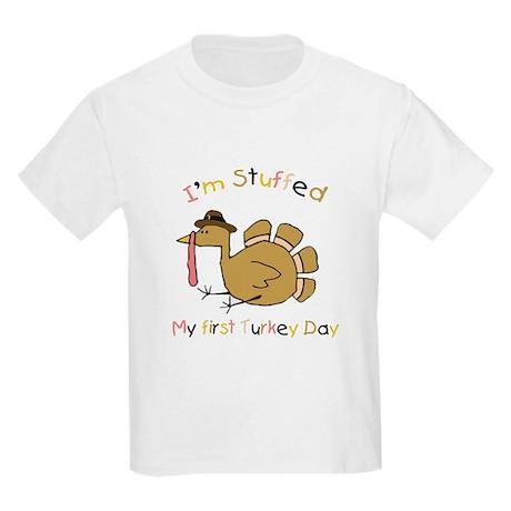 My first Turkey Day (I'm Stuffed) Kids T-Shirt