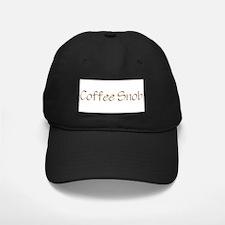 Coffee Snob Baseball Hat