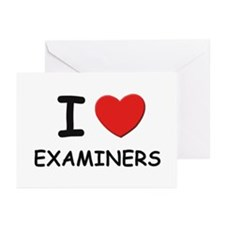 I love examiners Greeting Cards (Pk of 10)