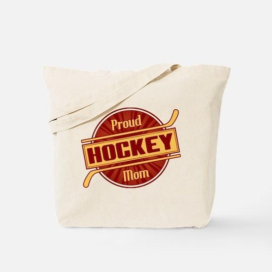 Proud Hockey Mom Tote Bag