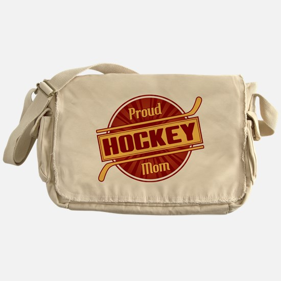 Proud Hockey Mom Messenger Bag