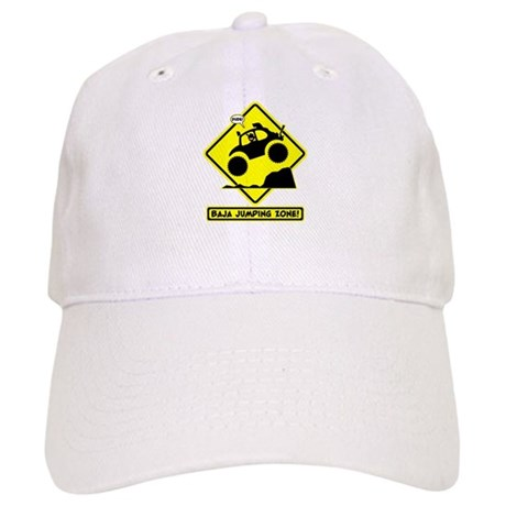 BAJA BUG JUMPING Road sign Baseball Cap