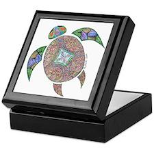 Turtle Swirls Keepsake Box