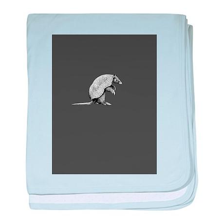 little armadillo baby blanket
