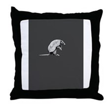 little armadillo Throw Pillow