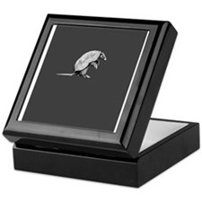 little armadillo Keepsake Box