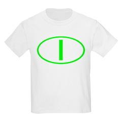 Italy - I Oval Kids T-Shirt