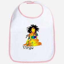 Whimsical Virgo Bib