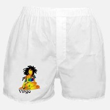 Whimsical Virgo Boxer Shorts