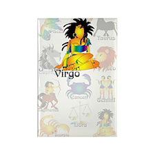 Whimsical Virgo Rectangle Magnet