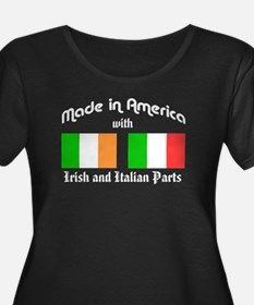 Irish Italian - wh tr Plus Size T-Shirt