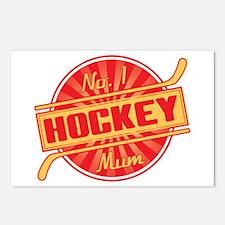 No. 1 Hockey Mum Postcards (Package of 8)