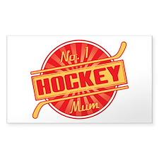 No. 1 Hockey Mum Decal