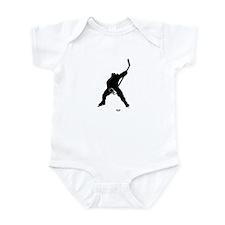 Hockey Player Infant Bodysuit
