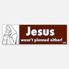 Prolife Jesus Bumper Bumper Bumper Sticker