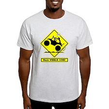 BAJA BUG WHEELIES road sign T-Shirt