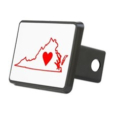 Heart Virginia Hitch Cover