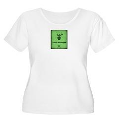 Plant Biologist Plus Size T-Shirt