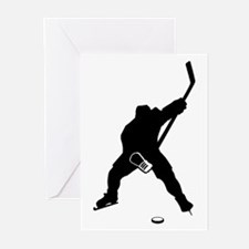 Hockey Player Greeting Cards (Pk of 20)
