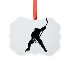 Hockey Player Ornament