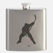 Hockey Player Flask
