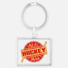 No. 1 Hockey Mum Keychains