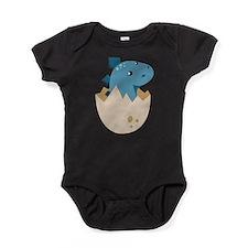 Baby Stegoceras Dinosaur Baby Bodysuit
