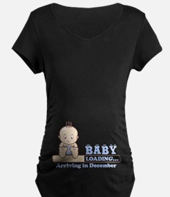 Arriving in December Maternity T-Shirt