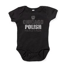 chicagopolisheritage.png Baby Bodysuit