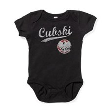 CUBSKI.png Baby Bodysuit