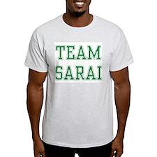 TEAM SARAI  Ash Grey T-Shirt