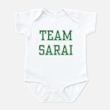 TEAM SARAI  Infant Bodysuit