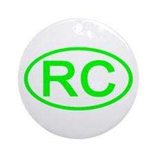 China - RC Oval Ornament (Round)