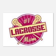 #1 Lacrosse Mom Postcards (Package of 8)