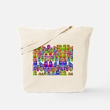 Russian dolls 5 horizi Tote Bag