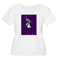 dino spaceman Plus Size T-Shirt