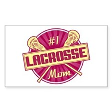 #1 Lacrosse Mom Decal