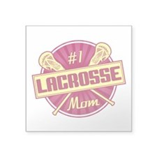 #1 Lacrosse Mom Sticker
