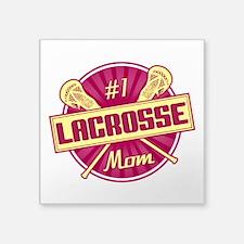 #1 Lacrosse Mom Sticker