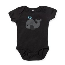 Gray Whale Baby Bodysuit